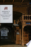 Memory's Library  : Medieval Books in Early Modern England