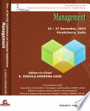 International Conference on Computer Applications - Management