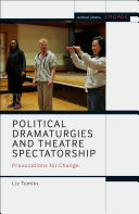 Political Dramaturgies and Theatre Spectatorship