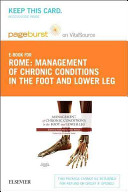 Management of Chronic Musculoskeletal Conditions in the Foot and Lower Leg Pageburst E book on Vitalsource