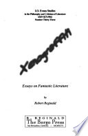 Xenograffiti  : essays on fantastic literature