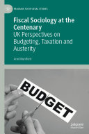 Fiscal Sociology at the Centenary Pdf/ePub eBook
