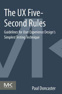The UX Five Second Rules