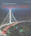 Cover image of Fundamentals of structural analysis
