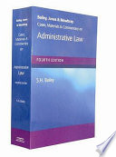 Cases Materials And Commentary On Administrative Law