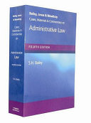 Cases, Materials and Commentary on Administrative Law