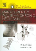 Management of Acute and Chronic Neck Pain