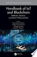 Handbook Of Iot And Blockchain Book PDF
