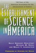The Establishment of Science in America