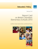 Report Card on British Columbia's Elementary Schools 2010