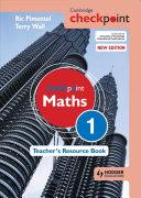 Books - Checkpoint Mathematics Teachers Resource Book 1 | ISBN 9781444143928