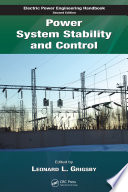 Power System Stability and Control Book