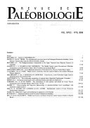 Collection of Papers Honoring Gerd E G  Westermann