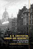 G.K. Chesterton, London and Modernity [Pdf/ePub] eBook