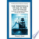 The Persistence Of Sail In The Age Of Steam Book PDF
