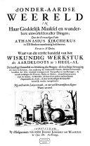 D' onder-aardse Weereld ebook