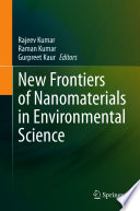 New Frontiers of Nanomaterials in Environmental Science Book