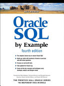 Pdf Oracle SQL by Example Telecharger
