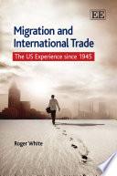 Migration And International Trade Book PDF