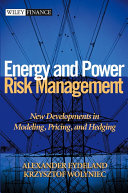 Energy and Power Risk Management