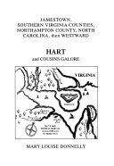 Jamestown  Southern Virginia Counties  Northampton County  North Carolina  Then Westward