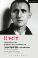 Pdf Brecht Collected Plays: 2 Telecharger