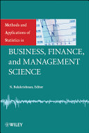 Methods and Applications of Statistics in Business  Finance  and Management Science