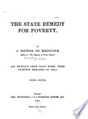 The State Remedy for Poverty