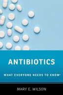 link to Antibiotics : what everyone needs to know in the TCC library catalog