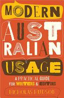 Modern Australian Usage [Pdf/ePub] eBook