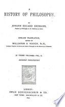 A History of Philosophy  Modern philosophy