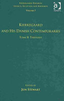 Kierkegaard and His Danish Contemporaries: Theology