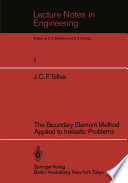 The Boundary Element Method Applied to Inelastic Problems