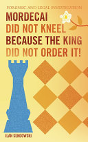 Mordecai Did Not Kneel Because the King Did Not Order It