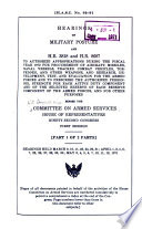 Hearings on Military Posture and H R  3818 and H R  8687 to Authorize Appropriations During the Fiscal Year 1972 Book