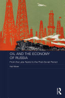 Oil and the Economy of Russia