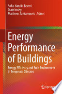 Energy Performance Of Buildings Book PDF