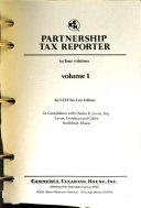 Partnership Tax Reporter