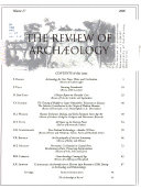The Review of Archaeology