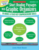 Short Reading Passages with Graphic Organizers to Model & Teach Key Comprehension Skills