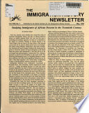 The Immigration History Newsletter