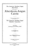 Pdf The American Aberdeen-Angus Herd-book