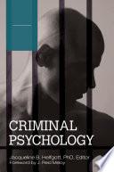 Criminal Psychology  4 volumes