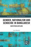 Pdf Gender, Nationalism, and Genocide in Bangladesh