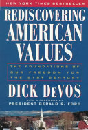 Rediscovering American Values