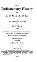 The Parliamentary Debates ebook