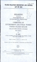 Water Pollution Prevention and Control Act of 1991