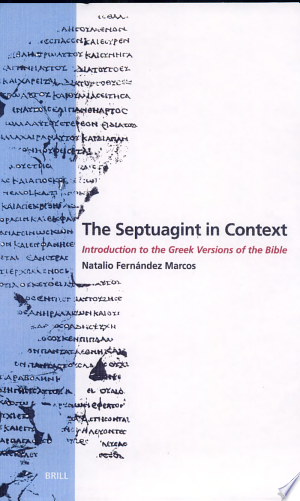 Free Download The Septuagint in Context PDF - Writers Club