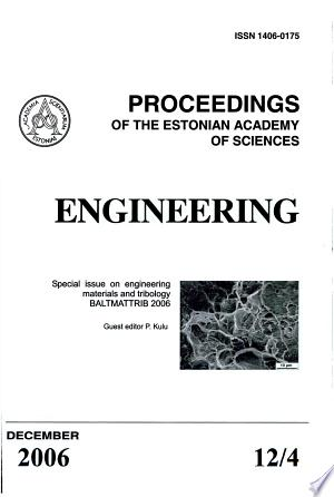 Proceedings+of+the+Estonian+Academy+of+Sciences%2C+Engineering