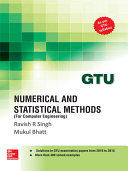 Numerical and Statistical Methods for COMPUTER ENGINEERING (GTU 2016)